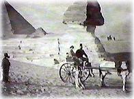 The Bayoumis and the Great Sphinx at Giza on the outskirts of Cairo.
