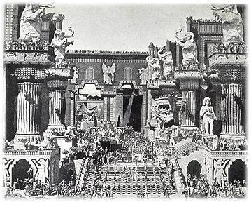 Babylonische stad uit Intolerance