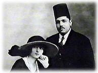 Mohamed and Charlotte Bayoumi